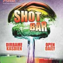 Shot bar - drinks